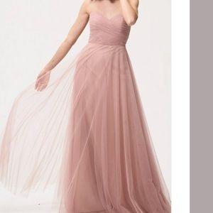 Jenny Yoo Cameo Pink Bridesmaid Dress